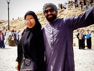 سمية الخشاب وأحمد سعد