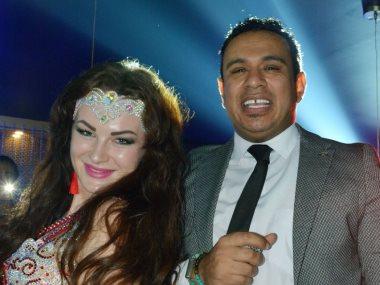 محمود الليثى والراقصة كريستين
