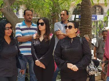 جانب من جنازه محمد شرف