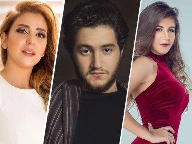ملك قورة و أحمد مالك و علياء عساف