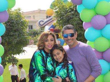 عيد ميلاد ابنة داليا البحيرى