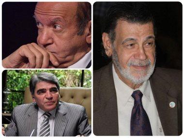 مصطفى الشامى و لطفى لبيب و محمود الجندى