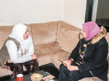 ابنة مديحة كامل وزينب عبد اللاه