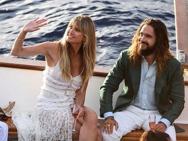 زواج هيدى و توم