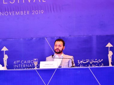 الناقد السينمائي احمد شوقي