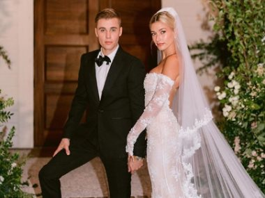 جاستن بيبر وزوجته