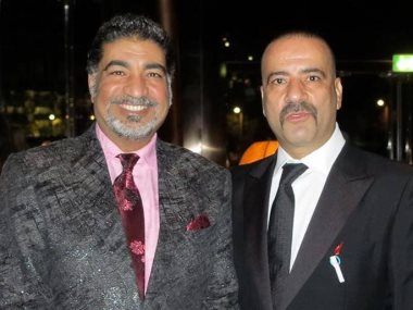 محمد سعد وسيد بدريه
