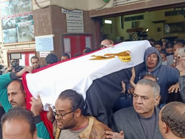 جنازة ماجدة الصباحى