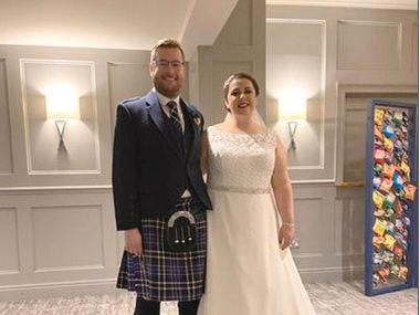 عروسان فى إسكتلندا
