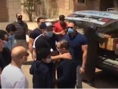 تشييع جثمان والد محمد نور