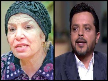 إنعام سالوسة مع محمد هنيدى