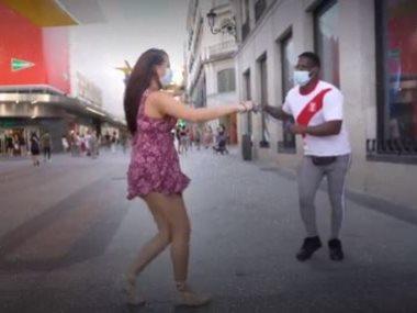 الرقص في زمن كورونا