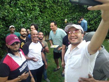 حسام داغر يحتفل بالعيد