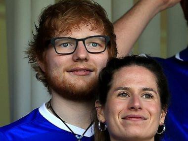إيد شيران وزوجته
