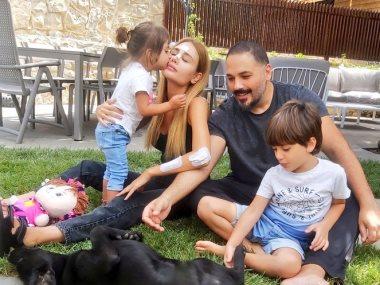 رامى عياش وزوجته