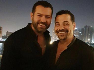 عمرو يوسف و طارق العريان