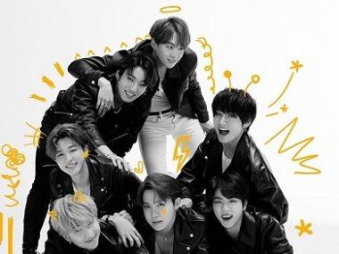 الفريق الكورى BTS