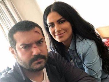عمرو يوسف وصبا مبارك