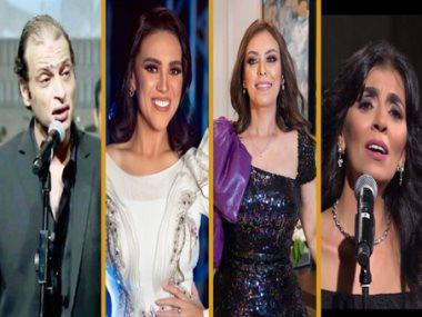 هدي عمار ومروة ناجي ومي فاروق و وائل الفشني