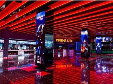 دور العرض السينمائى فى بولندا