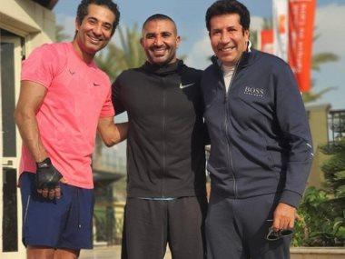 أحمد سعد وعمرو سعد وهانى رمزى