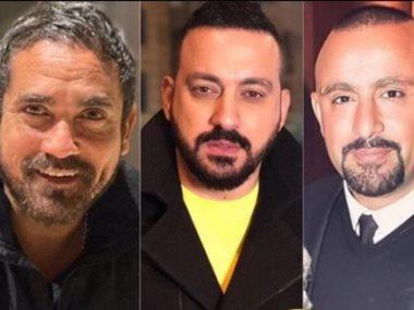 دياب و أحمد السقا وأمير كرارة