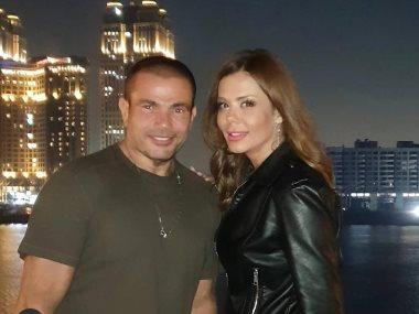 عمرو دياب وايمي سالم