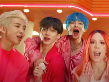كليب Boy With Luv