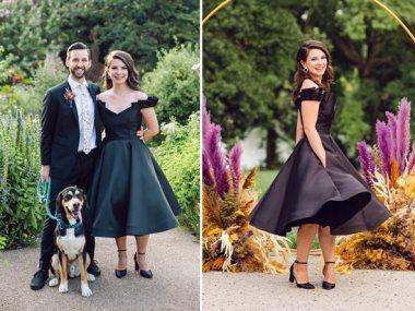 فساتين الزفاف السوداء