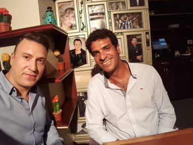 المخرج محمد حمدى ومحمد السماحى