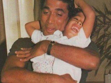هيثم أحمد زكى ووالده