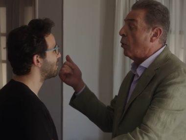"""محمود حميدة وكريم قاسم فى مسلسل """"لما كنا صغيرين"""""""