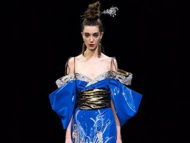 تصميم دار أزياء Guo Pei