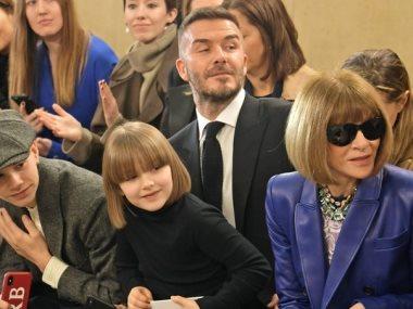 بيكهام وعائلته