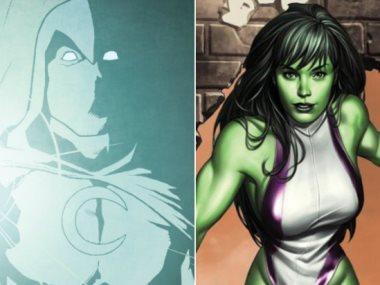 She-Hulk و Moon Knight