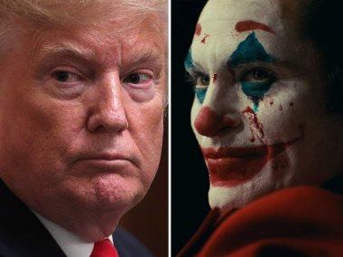 Joker و دونالد ترامب