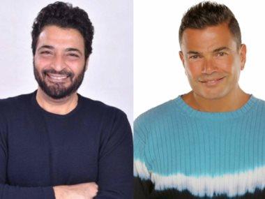 عمرو دياب وحميد الشاعري