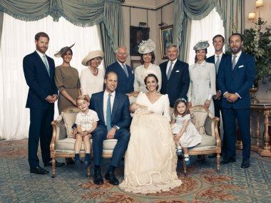 العائلة المالكة فى إنجلترا