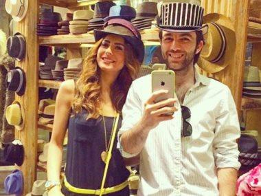 ريهام أيمن مع زوجها شريف رمزى
