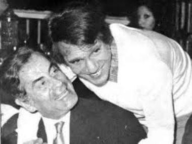 عبدالحليم حافظ مع فريد الأطرش