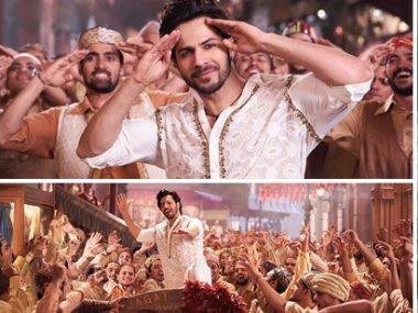 مشهد من الأغنية الهندية «First Class»