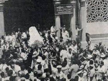 تشيع جثمان الفنان رشدى أباظة
