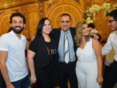 طارق فؤاد وابنته