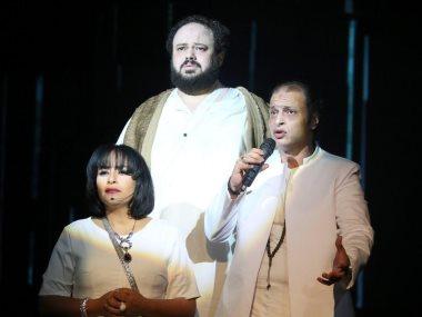 جانب من المهرجان القومى للمسرح المصرى