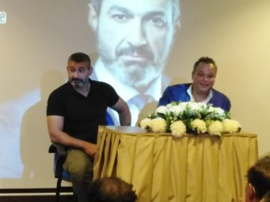 ياسر جلال مع تامر عبد المنعم
