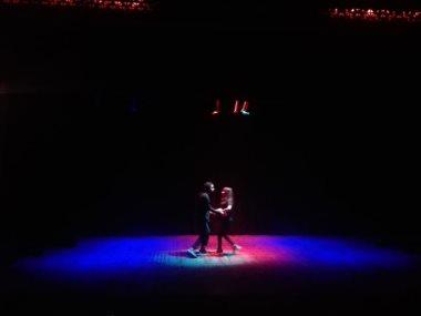 """مشهد راقص من أوفرتير مسرحية """"رسايل العشاق"""""""