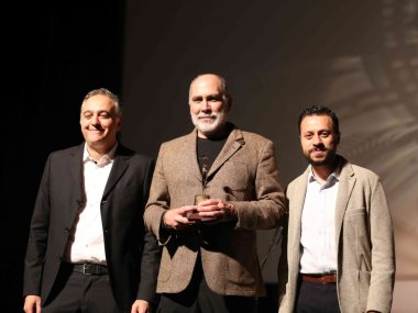 جانب من تكريم المخرج المكسيكى جيِّرمو أرياجا