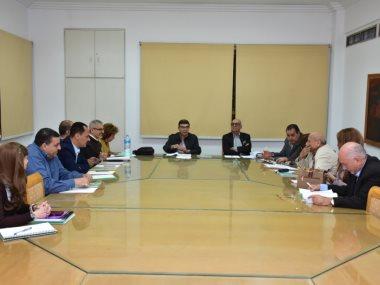 اجتماع اللجنة العليا لمهرجان الإسكندرية للسينما الفرانكوفونية