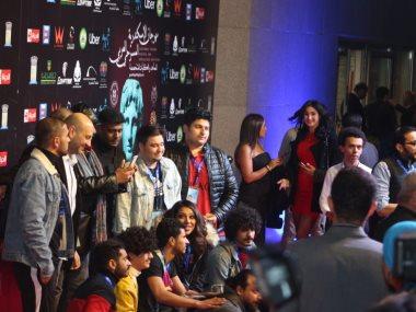 جانب من افتتاح مهرجان الإسكندرية للمسرح العربى