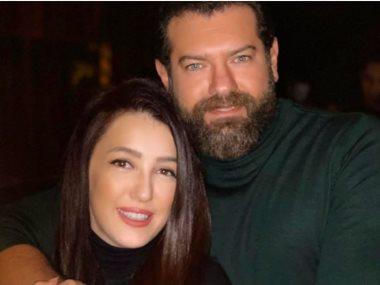 عمرو يوسف وزوجته كنده علوش
